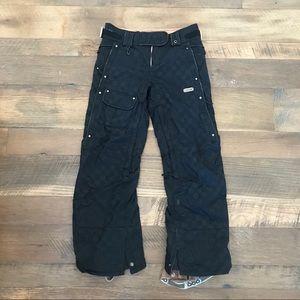 686 Deluxe Snowboard Ski Pants Wm XS